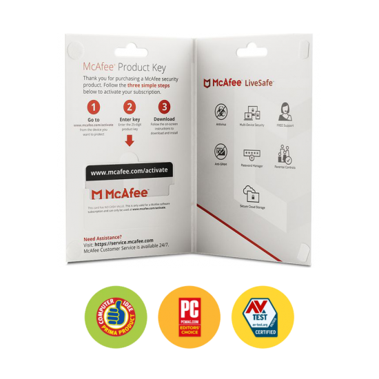 McAfee LiveSafe-Unlimited