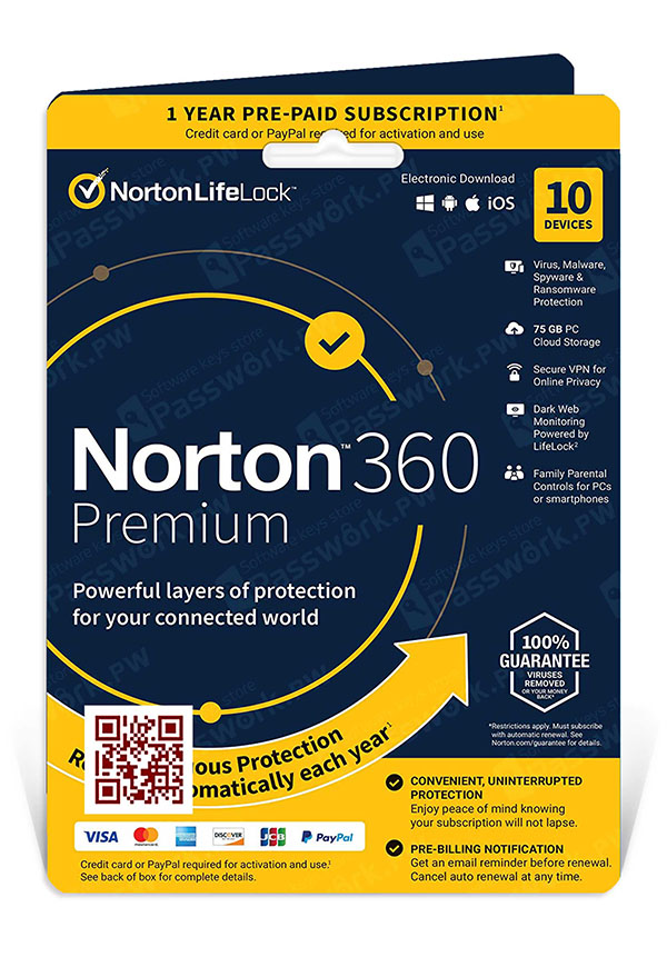 Norton 360 Premium 10 devices